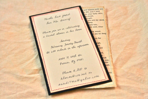 Romeo And Juliet Wedding Invitations: Items Similar To Vintage Wedding Invitations