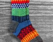 CUSTOM ORDER for CATHY Socks, Hand Knit Socks, Boho Socks, Men Socks, Women Socks, Teen Socks, Original Icelandic Design, Hipster Socks,