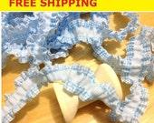 Gingham  Ruffle cotton elastic 6 Yard, 2cm Wide, Gingham Trim, Gingham Elastic, Cotton trim, for Headband, Hairband, Hairtie, Doll Dress