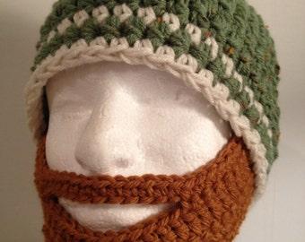 Ready to Ship Mens Beard Hat