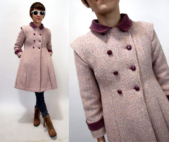 Babydoll Wool Coat | Down Coat