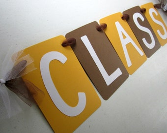 Class Reunion Customized Banner - CHOOSE YOUR COLORS / Photo Prop / Party Decoration / High School Reunion