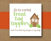 Made to Match TREAT BAG Toppers - DIY Printable - Personalize and Coordinate with Any Design in My Shop