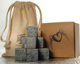 Rock Valentine's Day with our WHISKEY STONES gift set