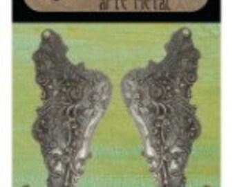 Vintaj Mythical Wings Set - Arte Metal - SALE