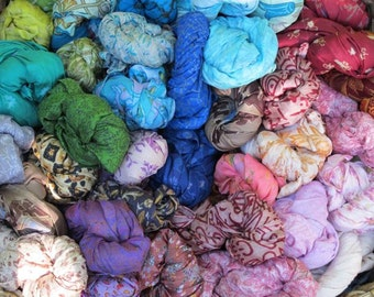 SALE! 5 x Silk Scarfs