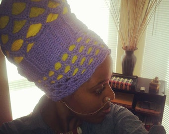 The RHAEYAN Headwrap - Made-To-Order (actual Crochet Pattern also Available)