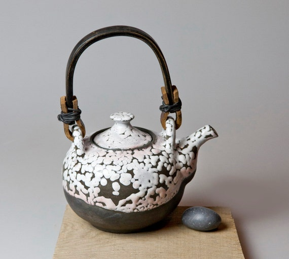 Black And White Teapot By Ceramicsoul On Etsy