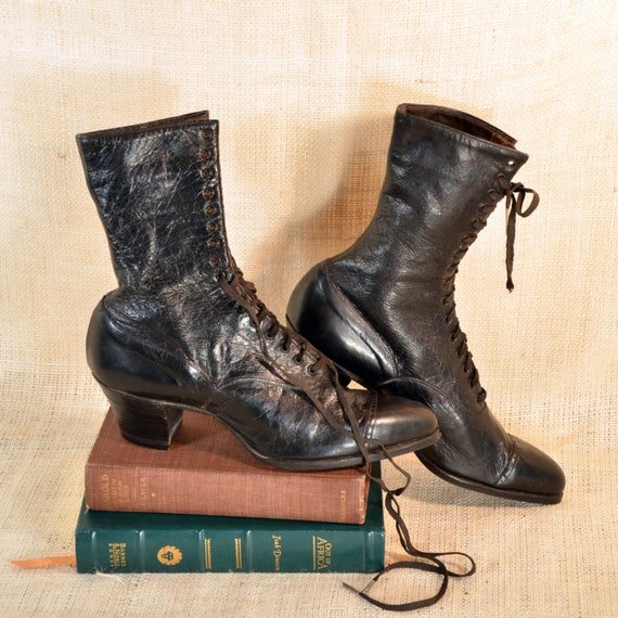 Witch Boots by Godman at Etsy, PapillonVintageShop
