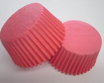 Light Pink Standard or Mini Cupcake Baking Liner Cups