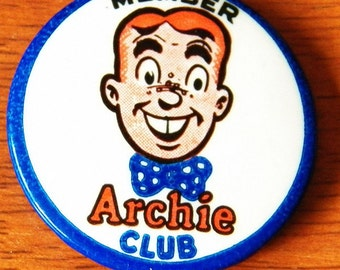 1960s Archie Club Membership Pin