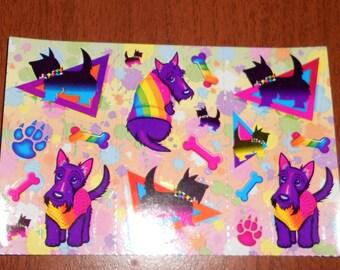 Lisa Frank Half Sheet of stickers
