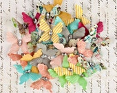 Divine Paper Butterflies With Gem for Scrapbooking and Paper Crafts by Prima Marketing 565305
