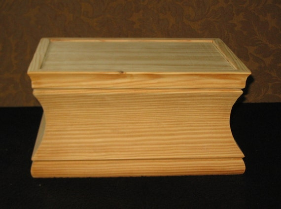 Large Unfinished Wood Craft Boxes