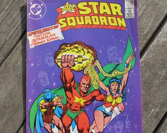 All Star Squadron DC Comic -May 1986 Edition (57)