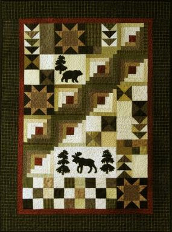 Under The Stars Wall Quilt Pattern By Honeyncloves On Etsy