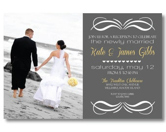 Printable Reception Invitation