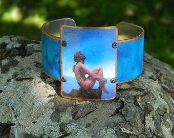 MaxField Parrish  bracelet mixed media jewelry