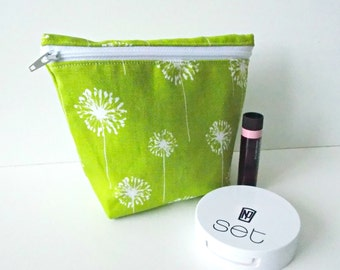Cosmetic Pouch - Small Makeup Bag - Toiletry Bag - Cosmetic Bag - Waterproof Bag - Wet Bag
