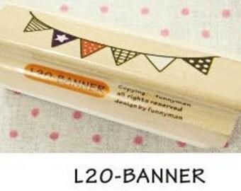 1 Pcs Korea DIY Wood Rubber Stamp-Lace Stamps L20
