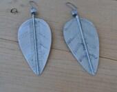 Vintage Leaf Earings