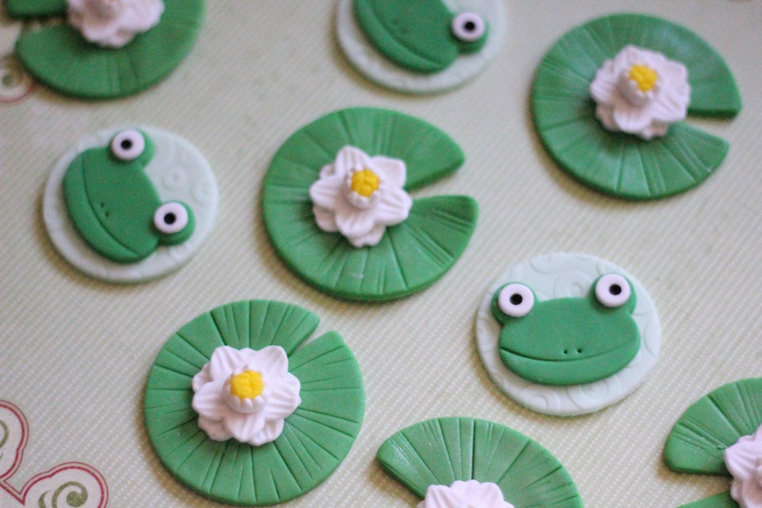 Frog Lily Pad Craft Whimsical Frogs And Lily Pads