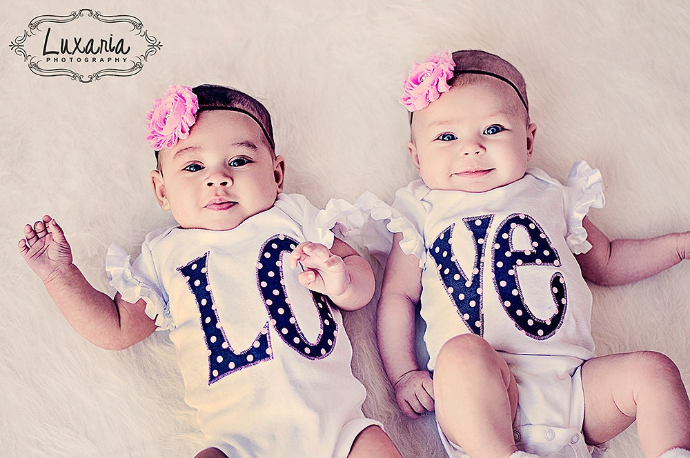 Twin Outfits Sister Outfits Twin Girl Bodysuits Sibling