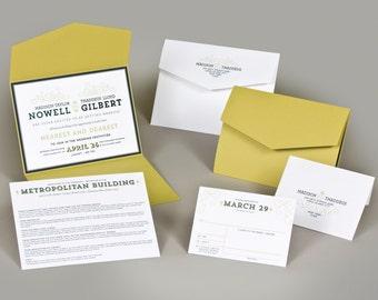 Wedding Invitations - Madison Collection