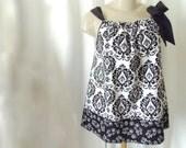 Women's Plus Size Cotton Damask sleeveless Top Shirt w shoulder bow 1x, 2x, 3x, 4x, 5x