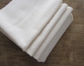 100% Organic Cotton Flannel Washcloth, Dish Cloth, Choose your Size and Quantity