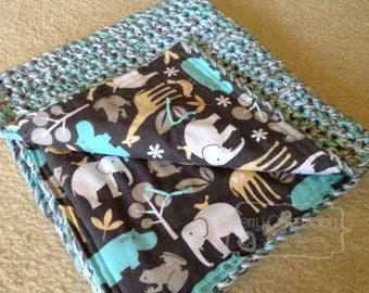 Reversible Snuggle Blanket - Custom, Made to order