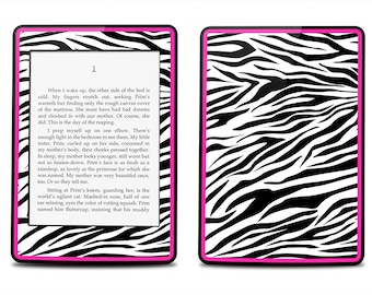 Amazon Kindle Touch Paperwhite Skin Cover - Pink Zebra Print - Kindle Cover, Kindle Paperwhite Cover