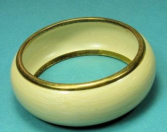Vintage Enamel Bangle Bracelet