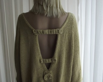 Knitting Patterns For Baggy Sweaters : Baggy sweater Etsy