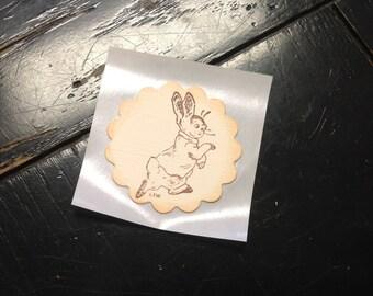 Peter Rabbit stickers-Peter Rabbit envelope seals-Set of 12