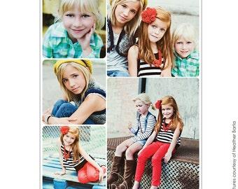 INSTANT DOWNLOAD - 16x20 Collage print & Blog board - Photoshop file - E696