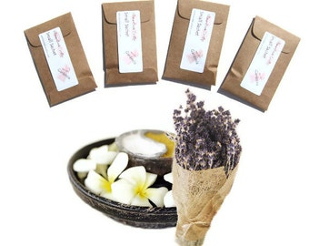 Modern Rustic Home Decor Vanilla Lavender Sachets Rustic Wedding Favors Seed Packets Mini Envelopes Kraft Style Spring Cleaning Drawer Liner