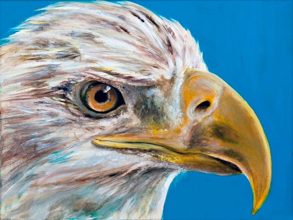 The Bald Eagle In Folk Art Painting