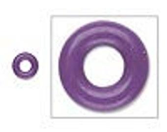 O Ring rubber ring, Purple, 3 mm inside diameter.  Pack of 300