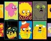 Adventure Time - Jake the Dog Sticker 10pk