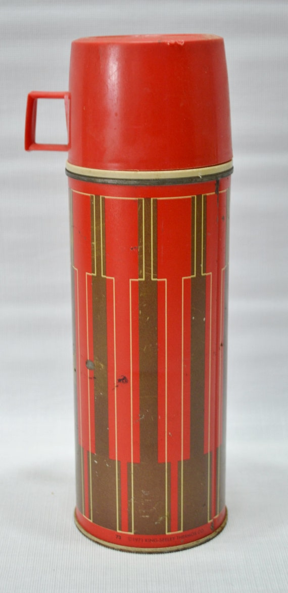 Items Similar To Vintage Thermos Vacuum Bottle On Etsy