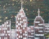 "Original Painting ""NYC Night"""
