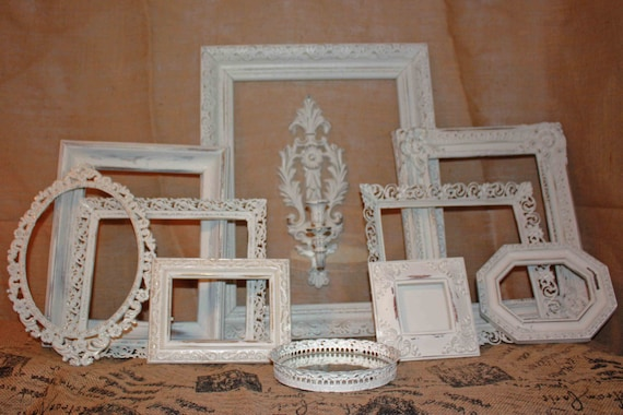 home decorators collection heirloom vintage heirloom white frame collection shabby by eightysix56 11432