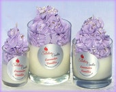 Lavender Vanilla Luxury Soy Cupcake Candle