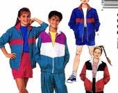 McCall's Pattern 6396 Girl's & Boys Size 14 Jacket Pants Shorts New Uncut