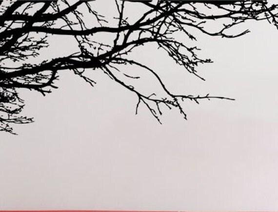 Bare Tree Branch Uber Decals Wall Decal Vinyl Decor Art