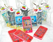 Homemade Handmade Beautiful Scented Funny Birhday Party Favor Gift  Apple iPhone Soap