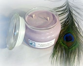 English Garden Scented Soy Candle 12oz Apothecary Jar Lavender Floral Fragrance