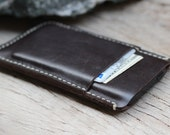 iPhone5/ Soil brown Case with wax cream cord