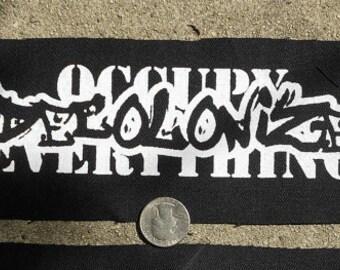 Decolonize SMALL - Punk Patch